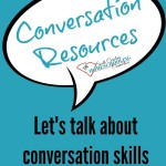 Good conversation takes practice. Let's continue the discussion about conversation with these resources.