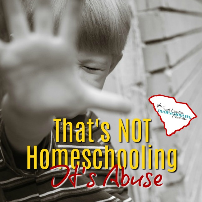 That's NOT Homeschooling–It's Abuse