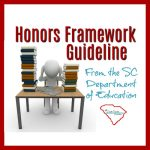 if your high schooler is transferring back to public school, you need to know about this Honors Framework Guideline from the Department of Education.