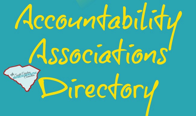 Find a SC Homeschool Accountability Association for legal compliance requirements.