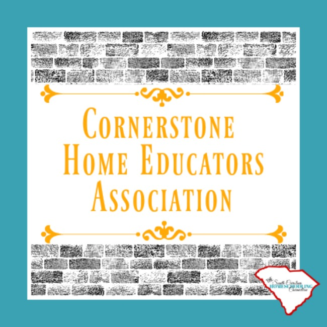 Cornerstone Home Educators Association is a 3rd Option homeschool accountability in South Carolina