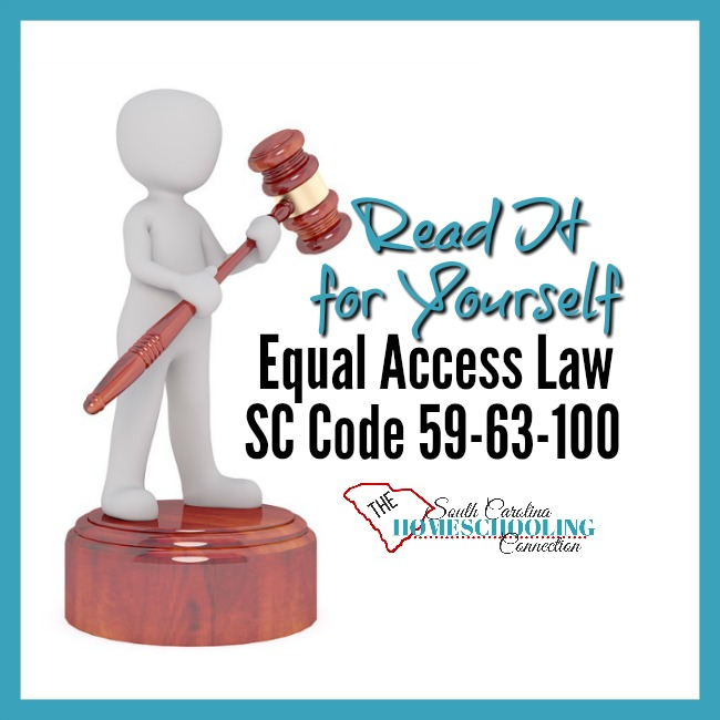 Equal Access Law in South Carolina