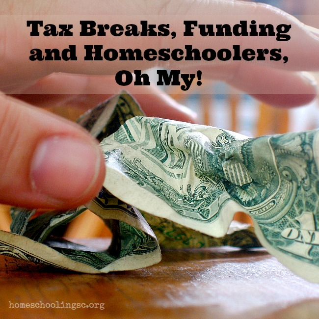 Tax Breaks, Funding and Homeschoolers. Oh My! Be vigilant. Be informed about education funding for homeschoolers.