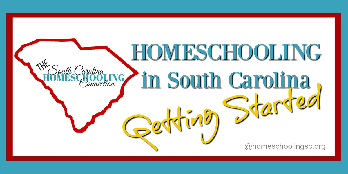 Whether you're a new homeschooler or a new resident, I'm glad you're here. Let's get you connected to the resources you need for getting started homeschooling in South Carolina.