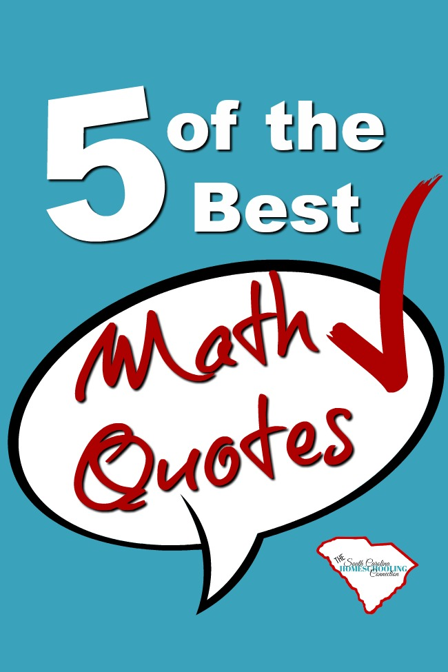 5 of the Best Math Quotes