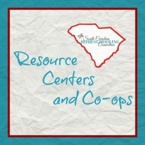 Homeschool Resource Centers and Co-op classes in South Carolina