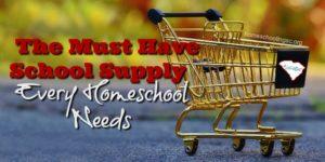 The must have school supply every homeschooler needs.