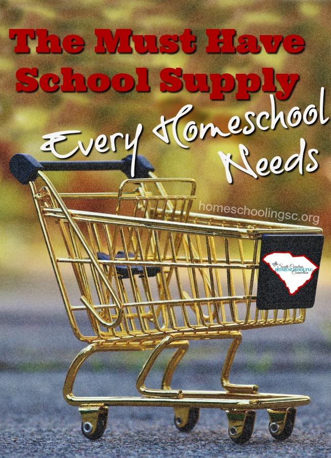 This is THE most important, MUST HAVE school supply every homeschool needs. No matter what educational philosophy you prefer. No matter what curriculum you will follow this year. No matter what else you buy this school year. You will buy this! Probably several times during the year, again.