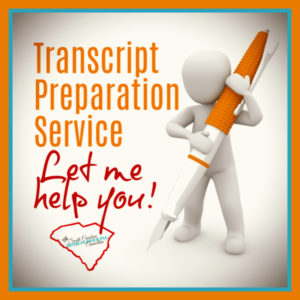 This transcript preparation is considered a parent-made transcript. In the same way you might hire someone to assist with creating a resume, I am here to help format an academic resume of your student's abilities and accomplishments.