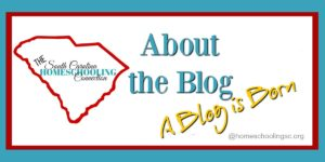 How The South Carolina Homeschooling Connection blog got started.