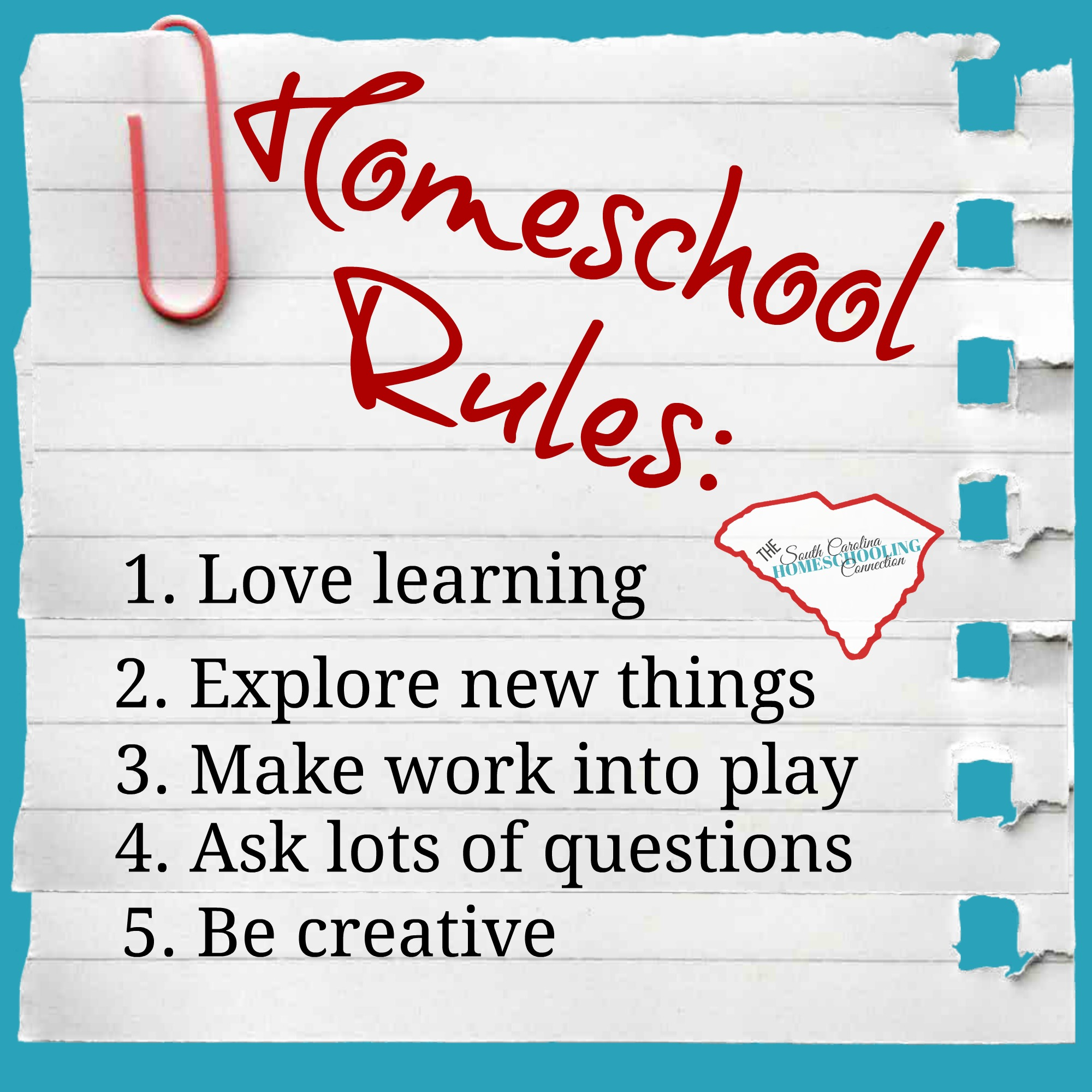 Homeschool rules
