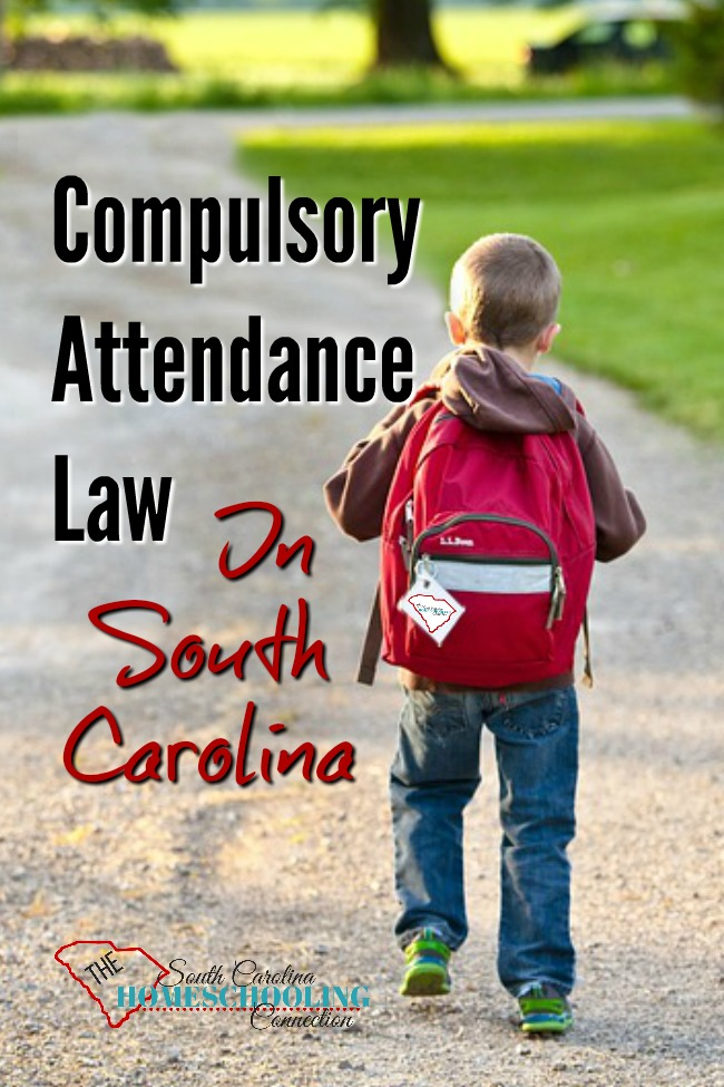 Compulsory Attendance Law in South Carolina