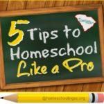 Hacks to homeschool like a pro