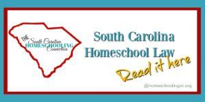 South Carolina Homeschool Law