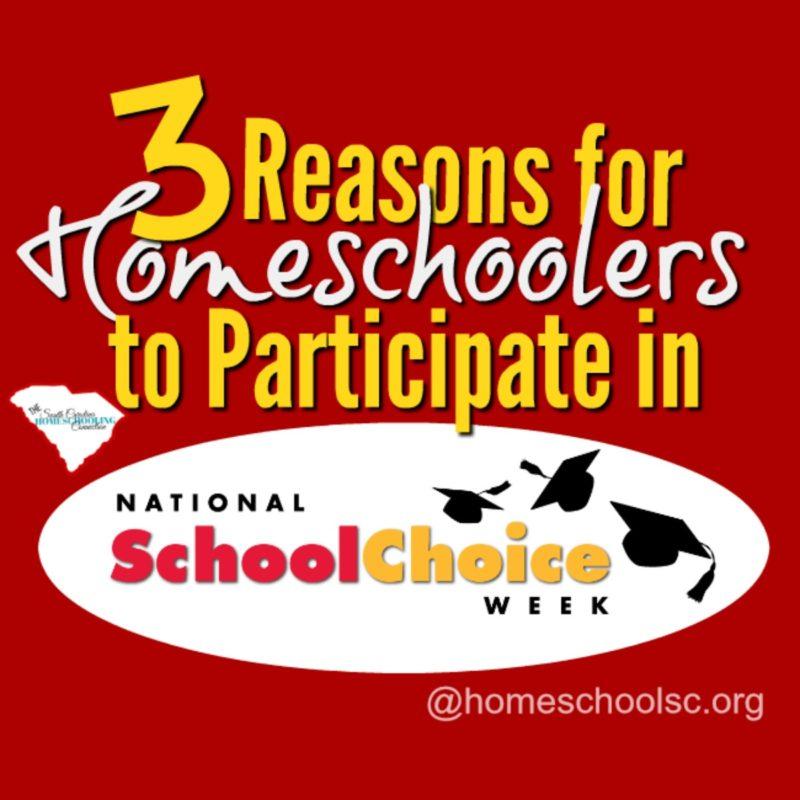 Homeschoolers Participate in School Choice Week