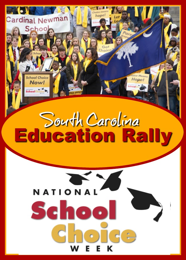 School Choice Rally for Education in South Carolina
