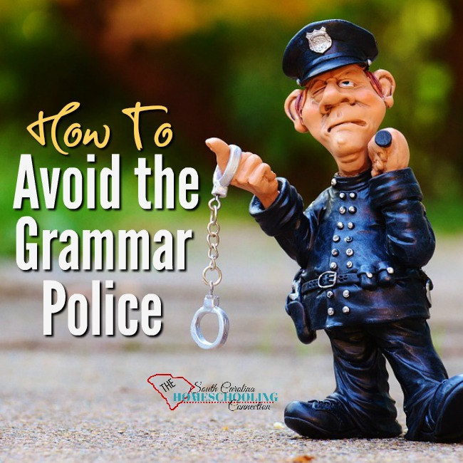 How to Avoid the Grammar Police