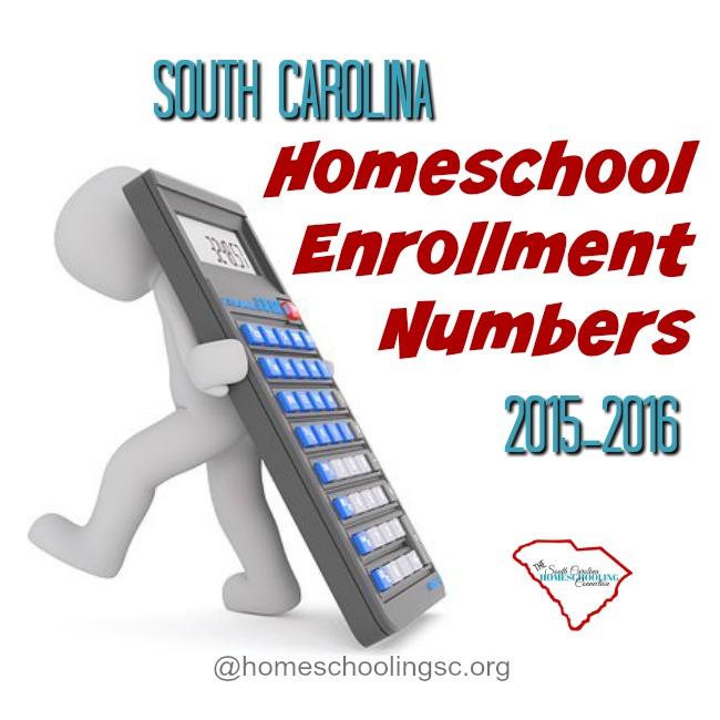 2015-2016 Homeschool Enrollment Numbers