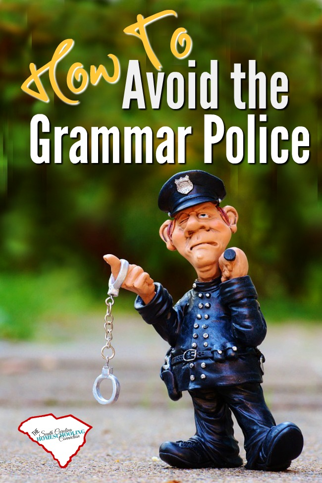 Grammar, spelling, and punctuation are essentials of a quality education. It's a fact of life that we are evaluated on the use of good grammar. But how can you avoid getting caught by the grammar police?