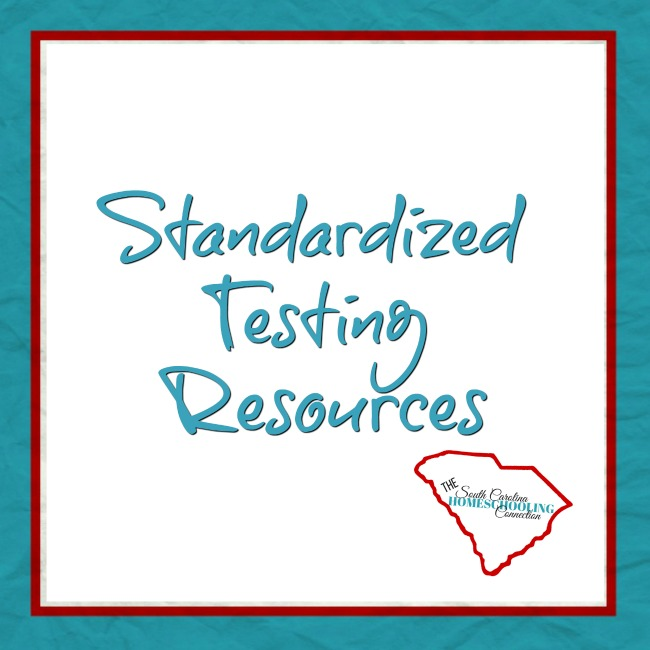 Looking for standardized testing for homeschoolers in South Carolina? Local testing, order your own test and high school tests