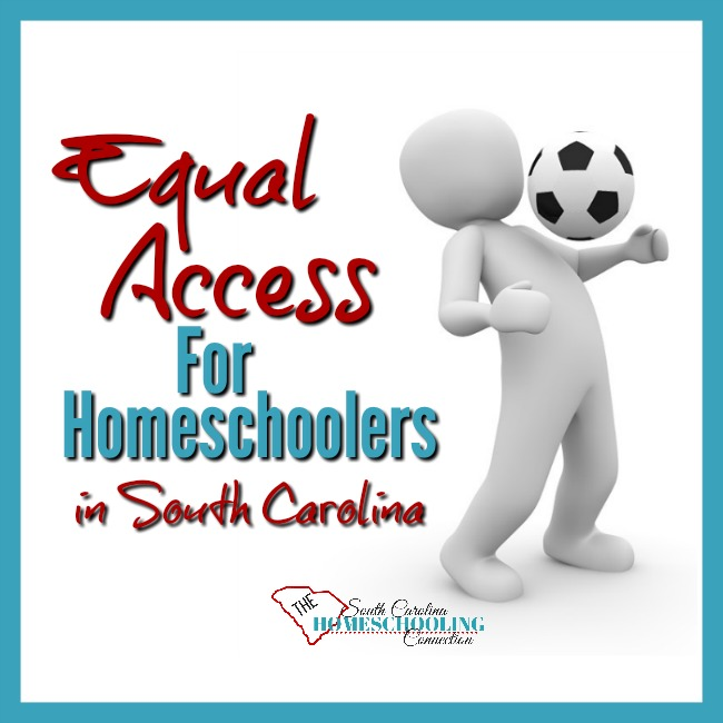 Equal Access For Homeschoolers in South Carolina