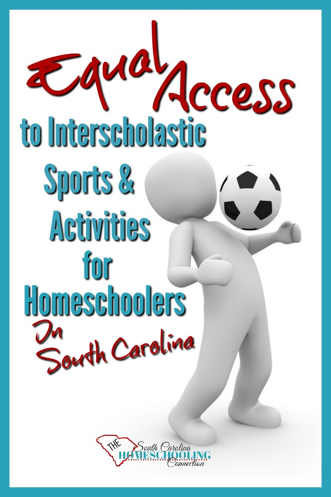 Also known as the Tim Tebow Law, Equal Access allows homeschoolers in South Carolina to participate with public school extra curricular sports and clubs. This is the process to apply.