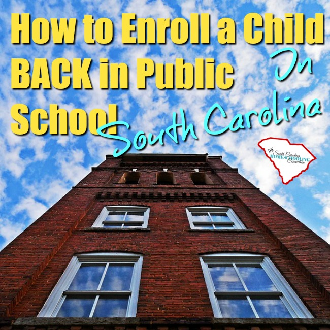 How to Enroll your Child BACK in School
