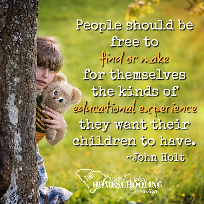 People should be free to find or make for themselves the kinds of education experiences they want their children to have. ~John Holt