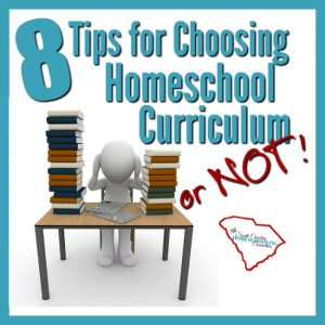 Curriculum is a tool to get you to those goals. While you're choosing homeschool curriculum, keep in mind these 8 tips for utilizing that curriculum effectively.
