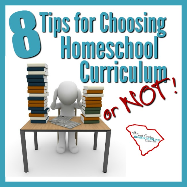 8 Tips for Choosing Homeschool Curriculum–or Not