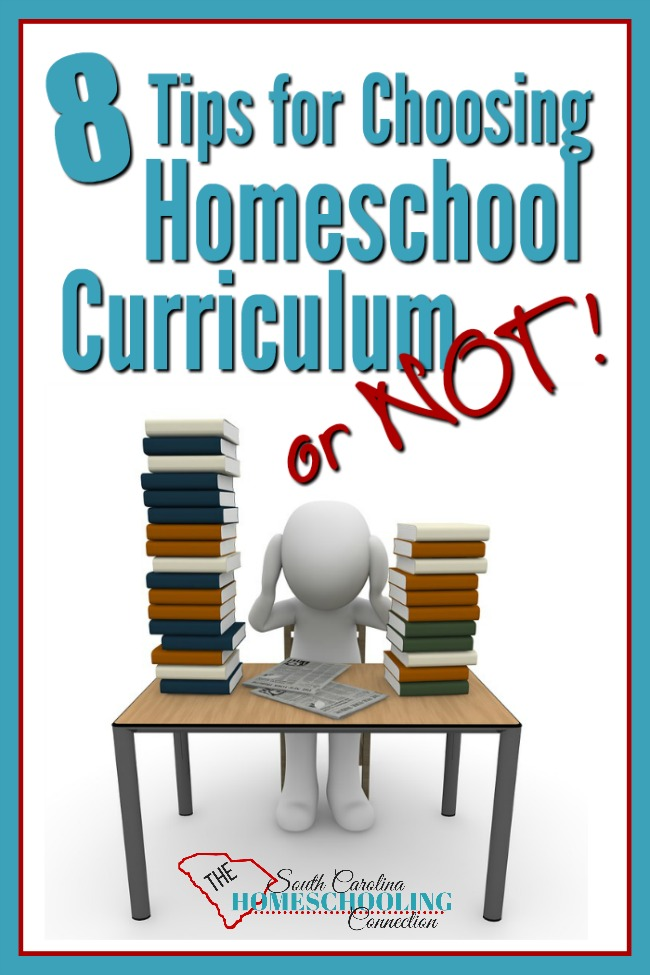 While you're choosing homeschool curriculum, keep in mind these 8 tips for utilizing that curriculum effectively. You need to find a plan that fits you. Curriculum is a tool to get you to those goals.