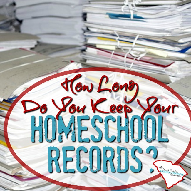 How Long Do You Keep Homeschool Records?