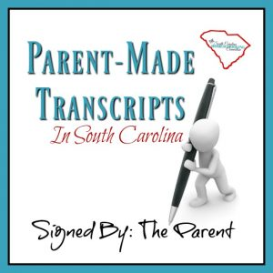 My professional advice for DIY parent-made transcripts in South Carolina