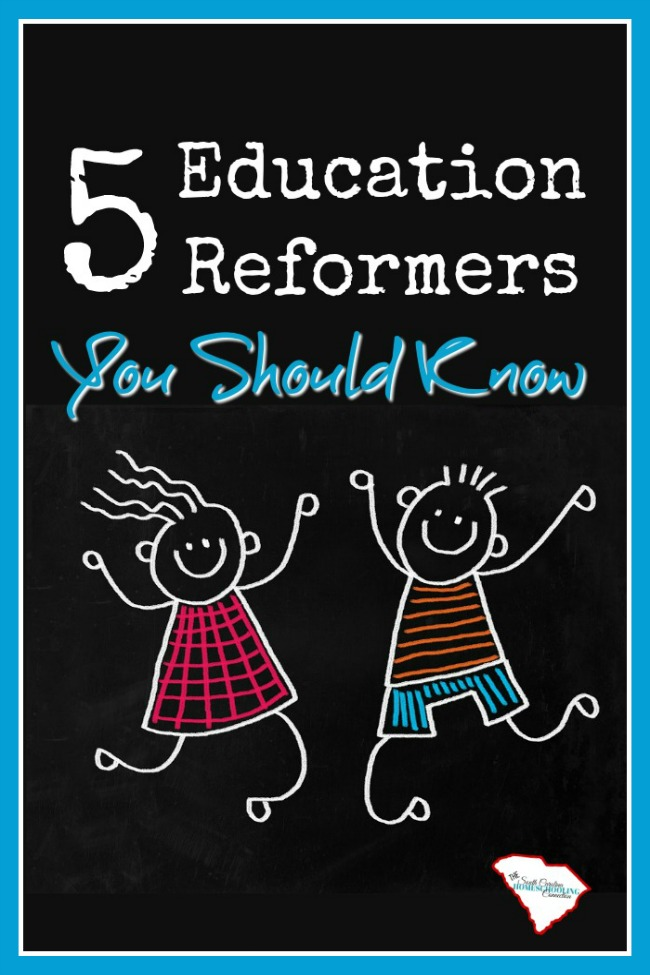 Let's take a look at these education reformers you should know and their TedTalks. Each of them has important points that are relevant to homeschoolers, too!