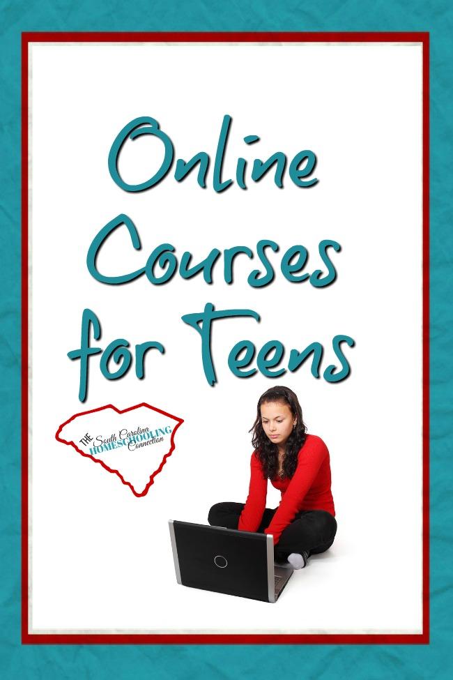 Online courses for your homeschool teen