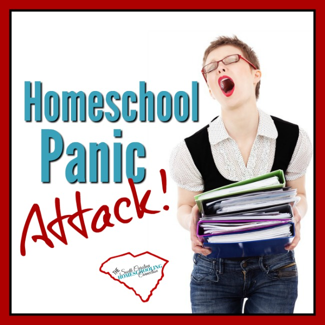 Homeschool Panic Attack