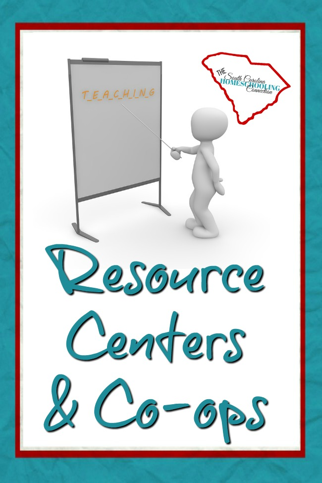 Local Resource Centers and Co-ops in South Carolina.