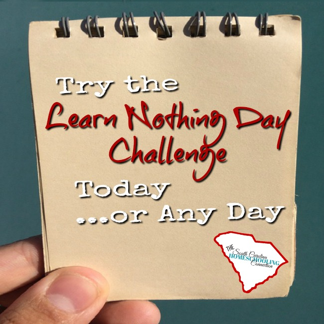 Learn Nothing Day–Try It Today!