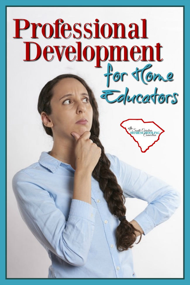 Home Educators earn professional develpment and continuing education creditentials, just like any other teacher does! Here's how.
