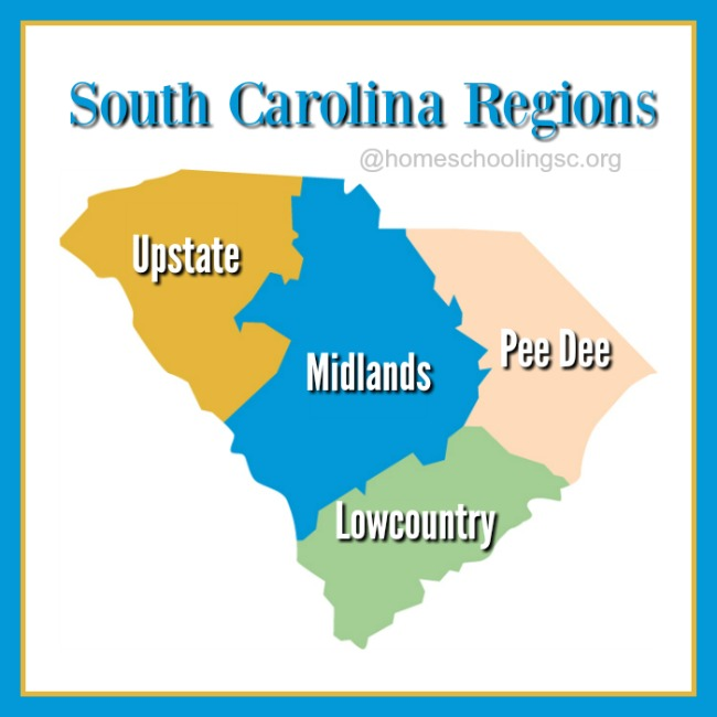 South Carolina Regions: A Glossary of Terms