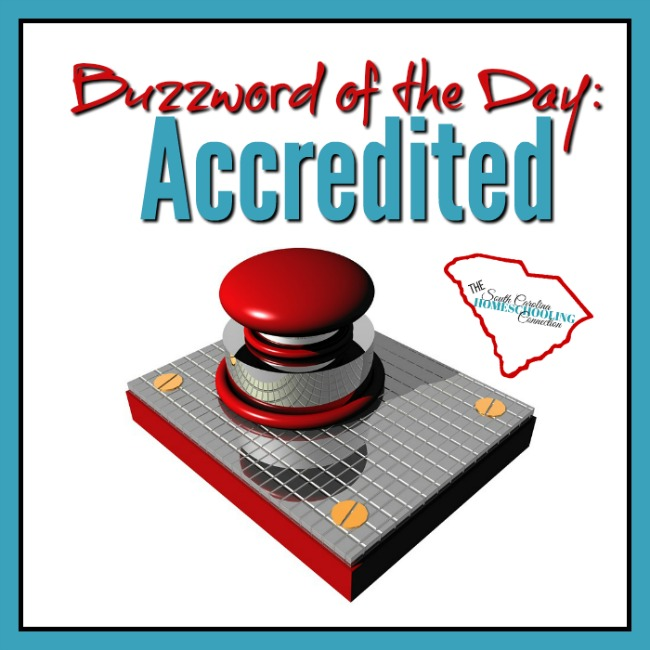 Buzzword of the Day: Accredited