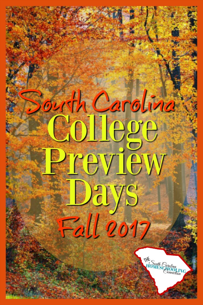 I love College Preview Days! It's a low-pressure way to see what each college has to offer. You get a feel for the personality of the school. And a free lunch, too!