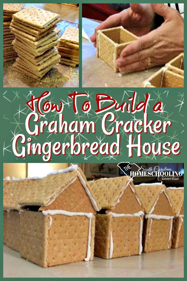 build graham cracker gingerbread house