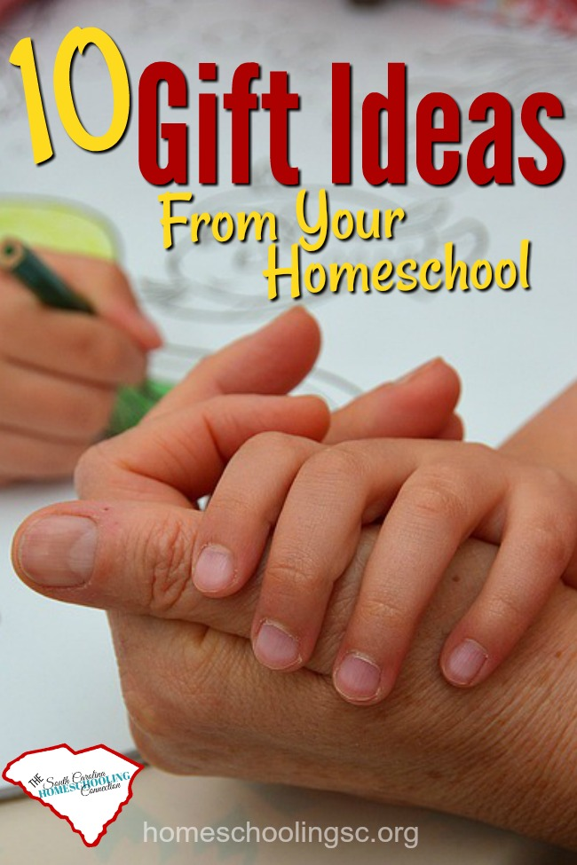 Gift Ideas: Homeschool Edition. Design your own gifts from your homeschool.