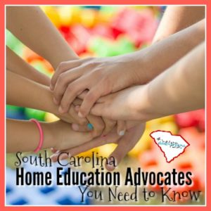 Today, let's meet a few of our home education advocates here in South Carolina. Local people working together to solve local issues. We are not alone!