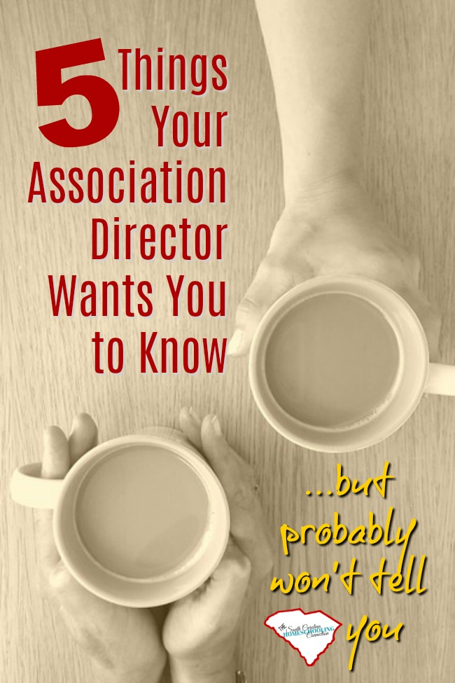 Today, I'm revealing a few secrets about association directors. Things your association director wants you to know...but, probably won't tell you.
