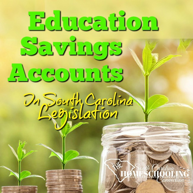Education Savings Accounts in SC Legislation