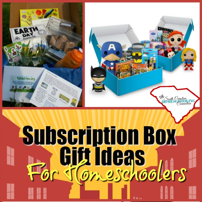 Subscription Box Gift Ideas for Homeschoolers