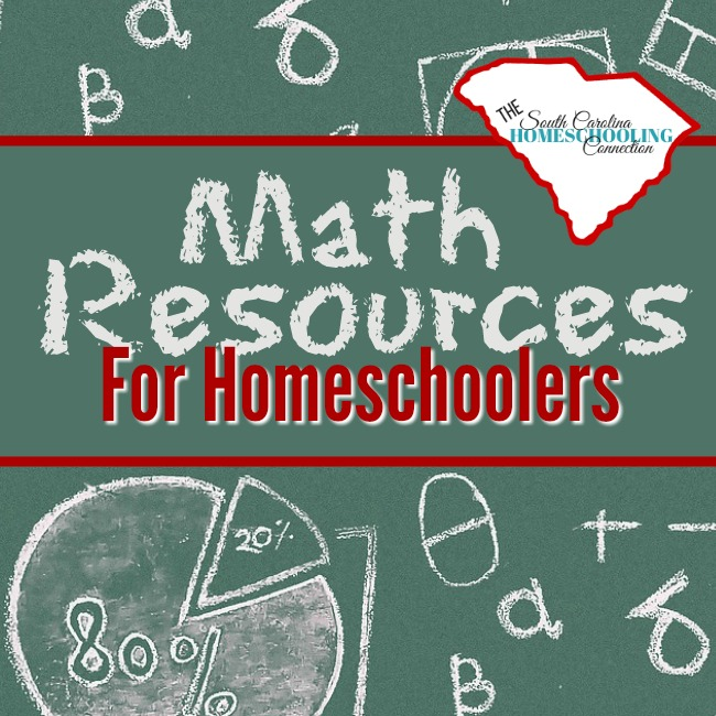 Math Resources for Homeschoolers