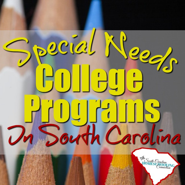 Special Needs College Programs in South Carolina
